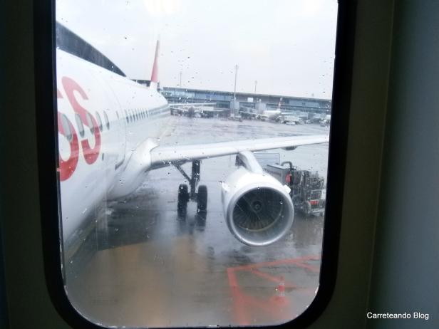 Volando en un A321 de Swiss