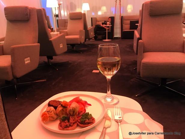 foto 4, lounge comida