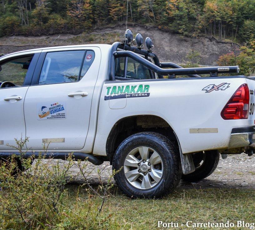 Esta 4x4 es la que nos llevó a nosotros en la excursión para conocer el Lago Escondido y el Lago Fagnano! 😍