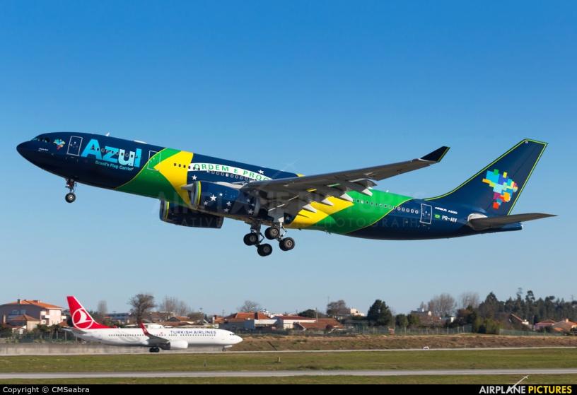 Nueva ruta aérea entre Sao Paulo y Porto
