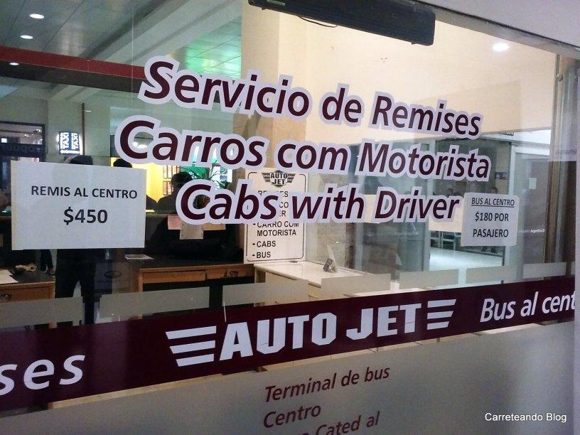 La forma mas barata para ir desde el Aeropuerto de Bariloche hacia el Centro