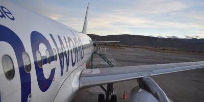 Volando a Bariloche