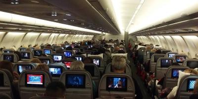 Volando de Buenos Aires a Madrid en un Airbus 340-600 de Iberia